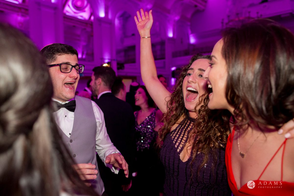 Grand connaught rooms guests scream and dance in joy