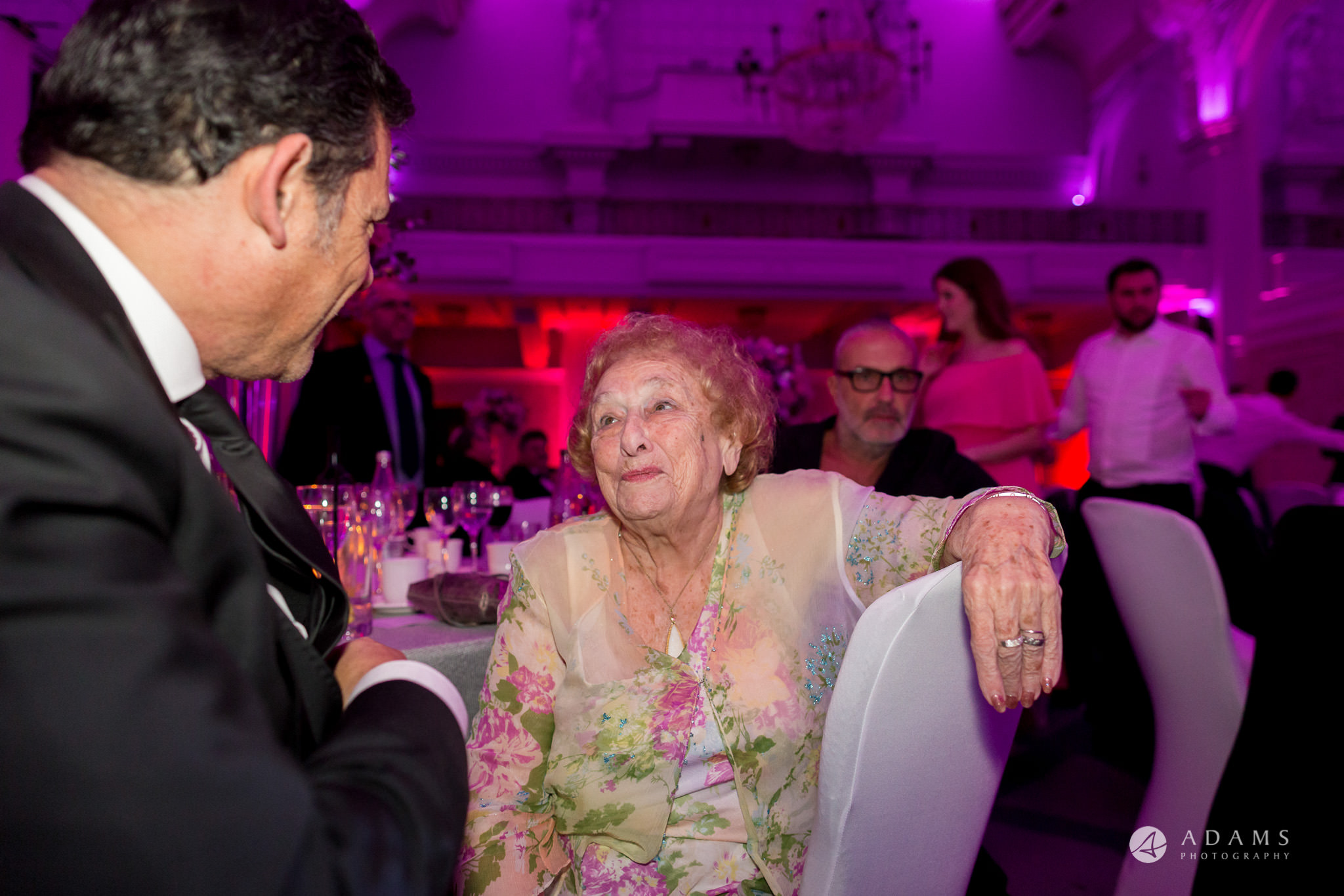 Grand connaught rooms guests chatting