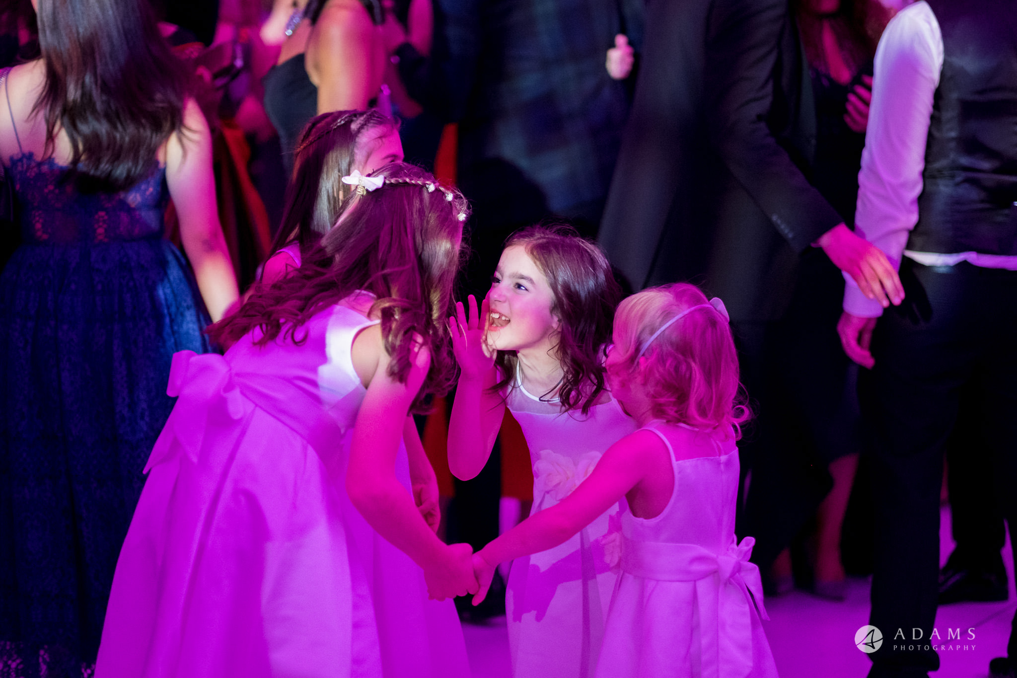 Grand connaught rooms wedding kids dancing