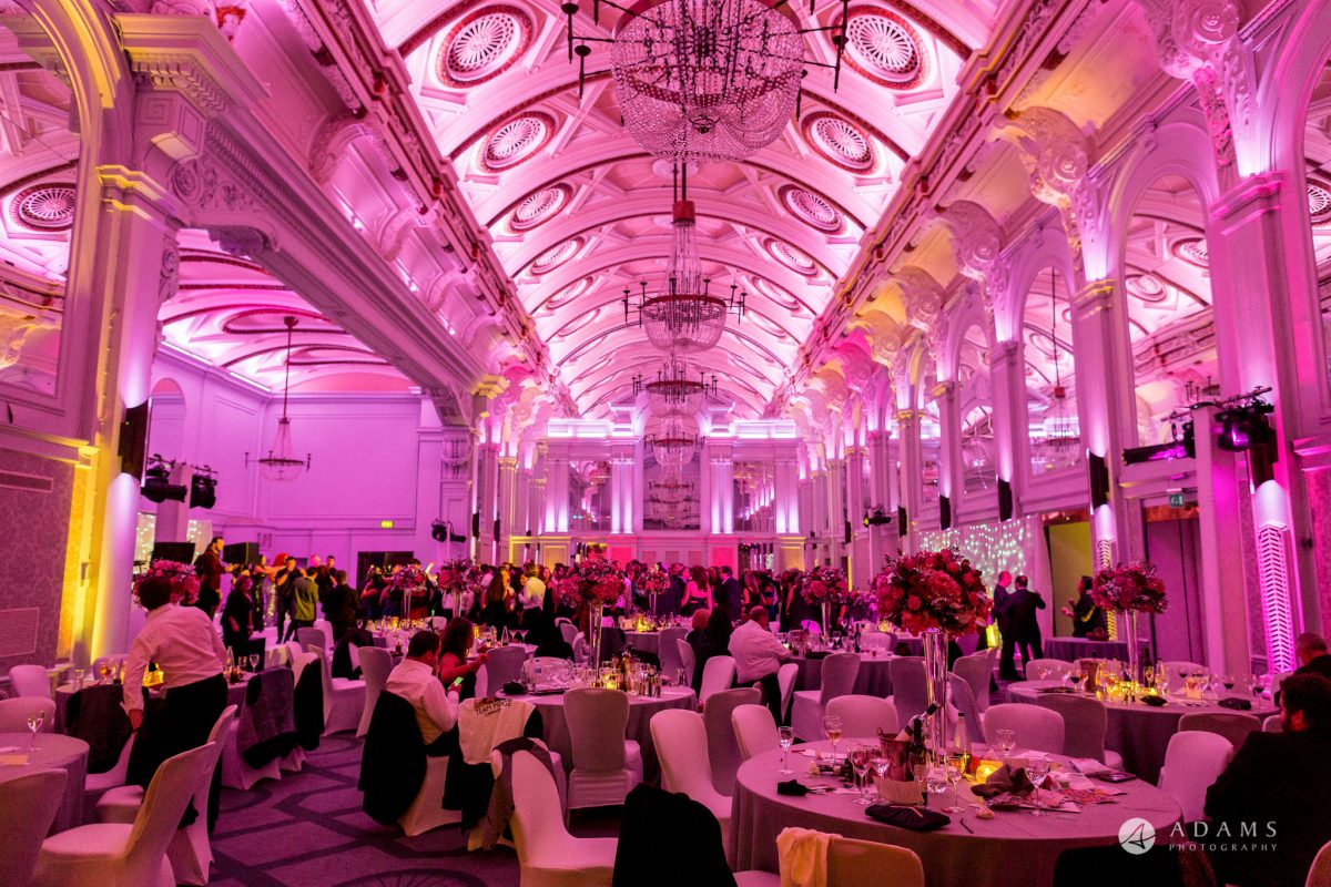 Grand connaught rooms wedding room view