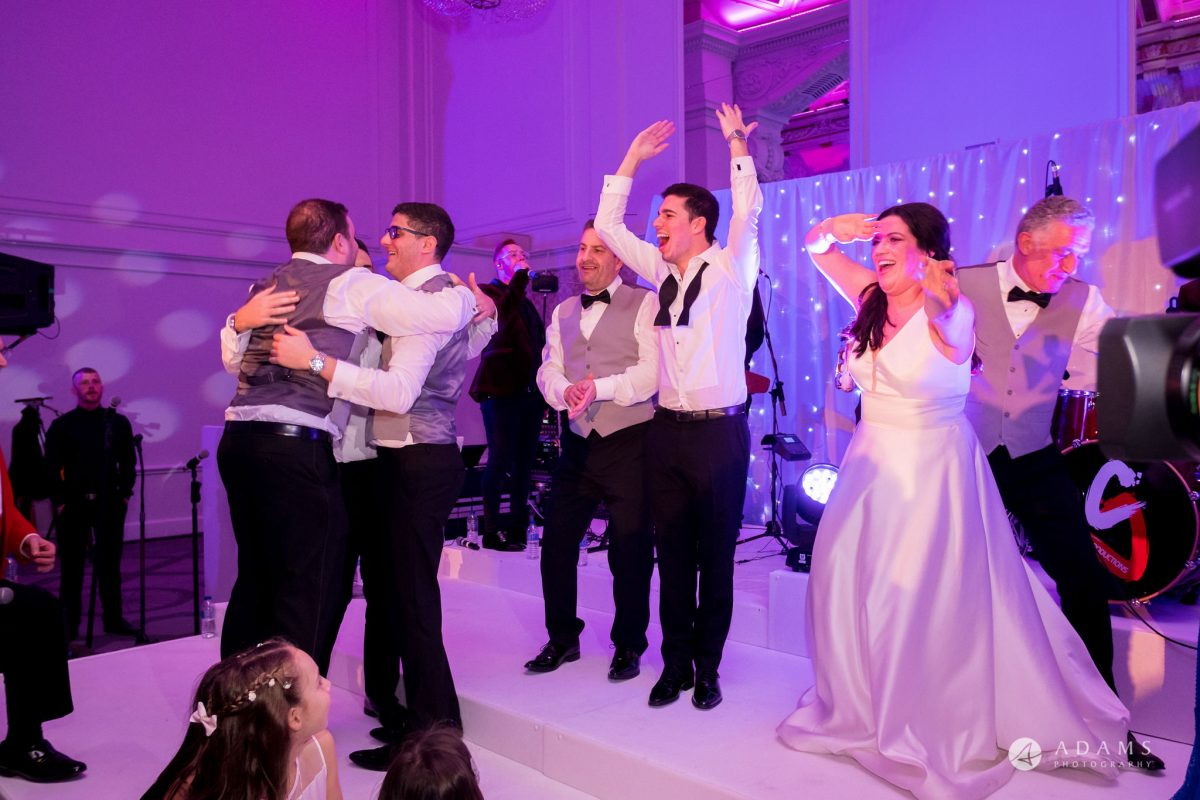 Grand connaught rooms wedding dance on the stage