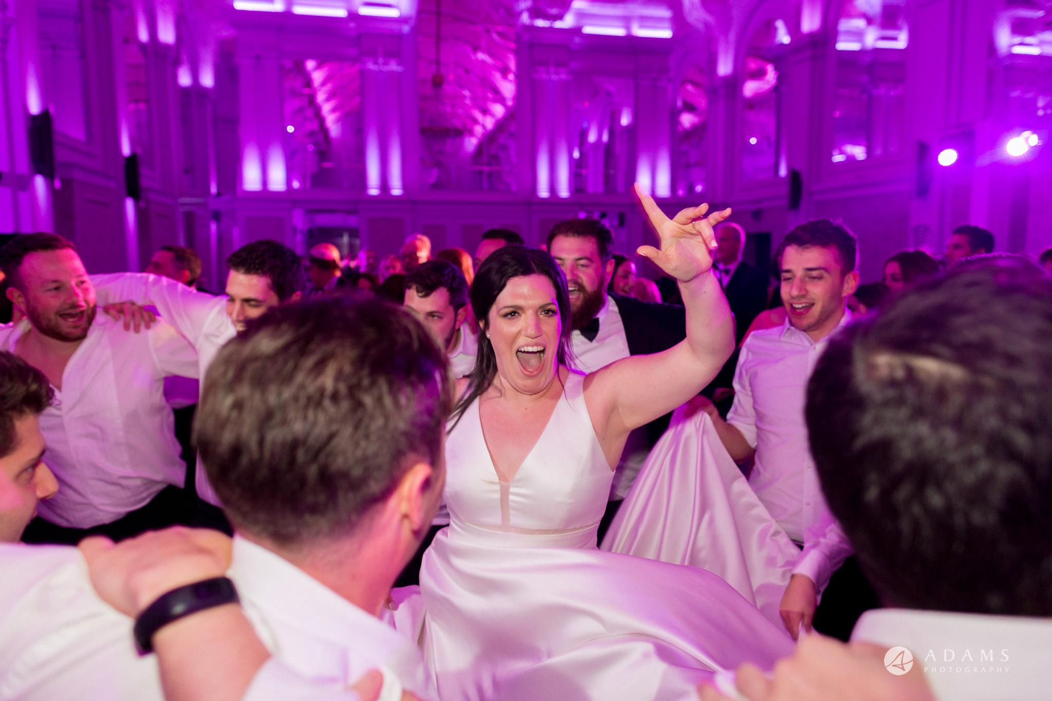Grand connaught rooms wedding bride dances