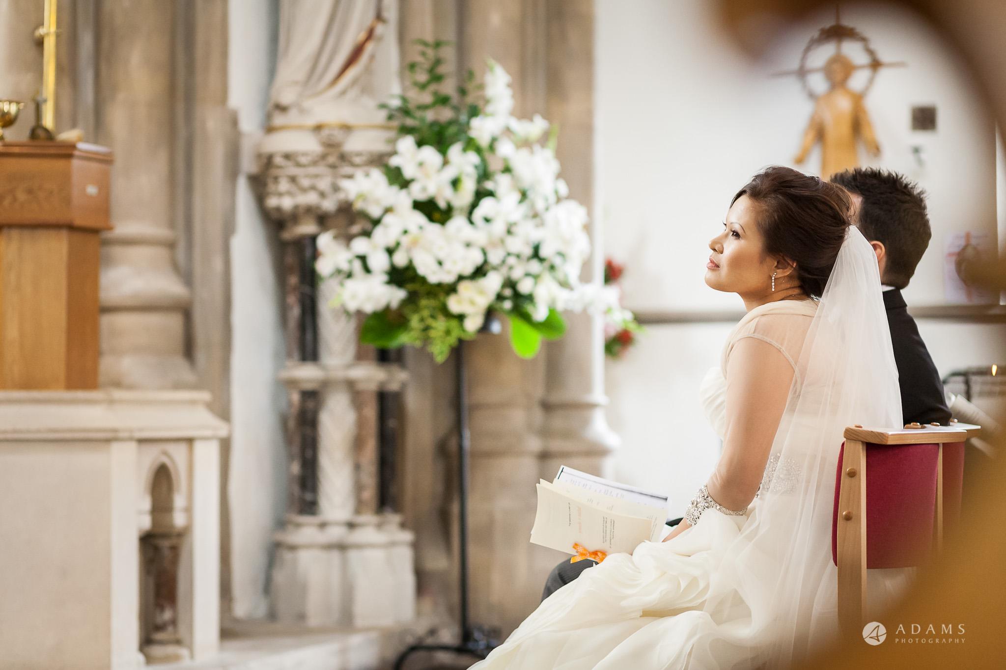 St Audries Park wedding ceremony