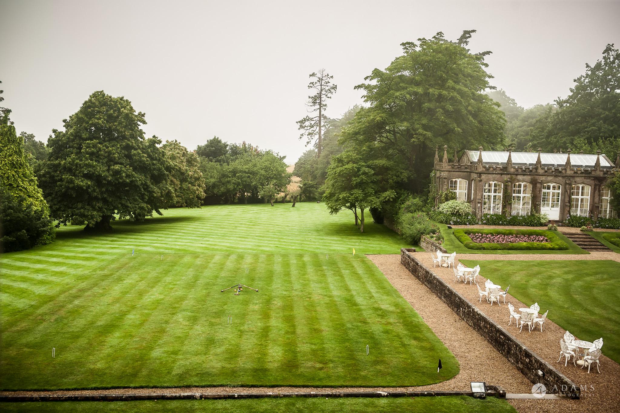 St Audries Park wedding venue lawns