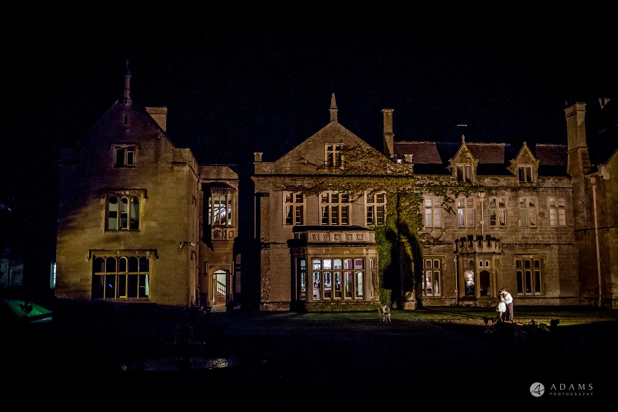 St Audries Park wedding venue silhouette