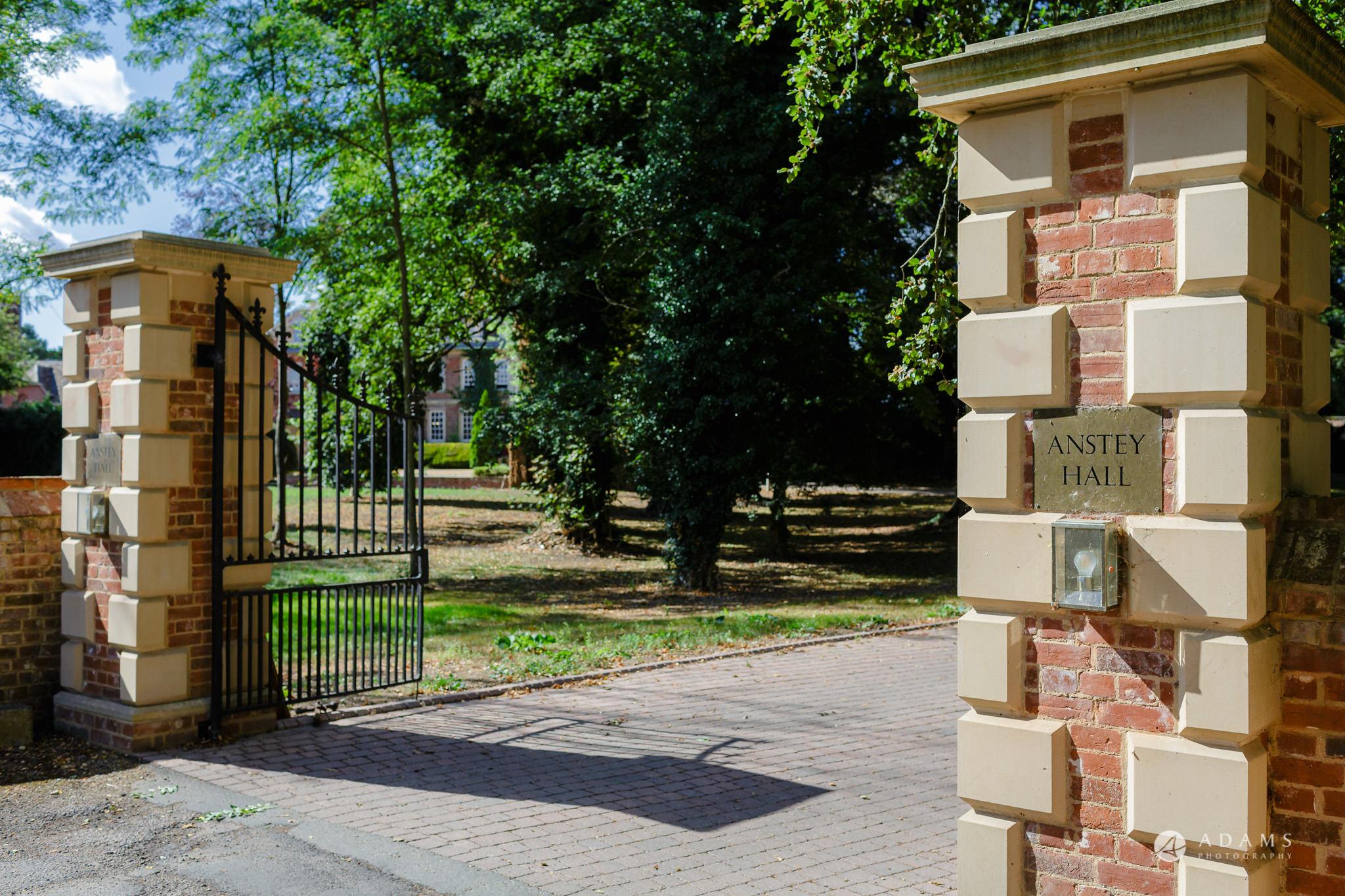 Trinity College Cambridge wedding venue entrance