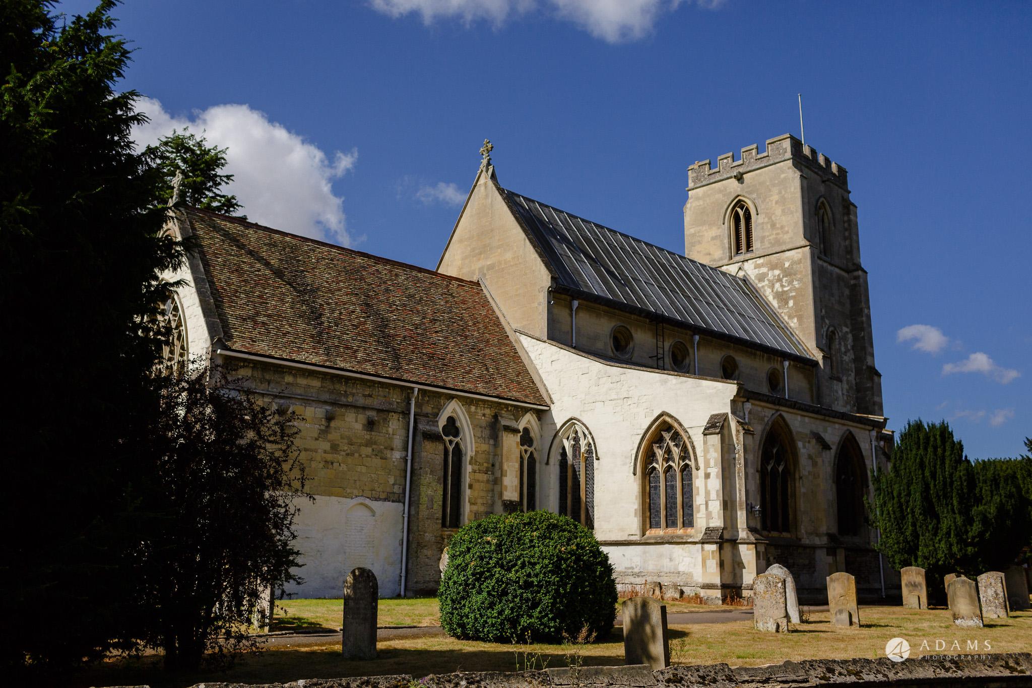Trinity College Cambridge wedding church