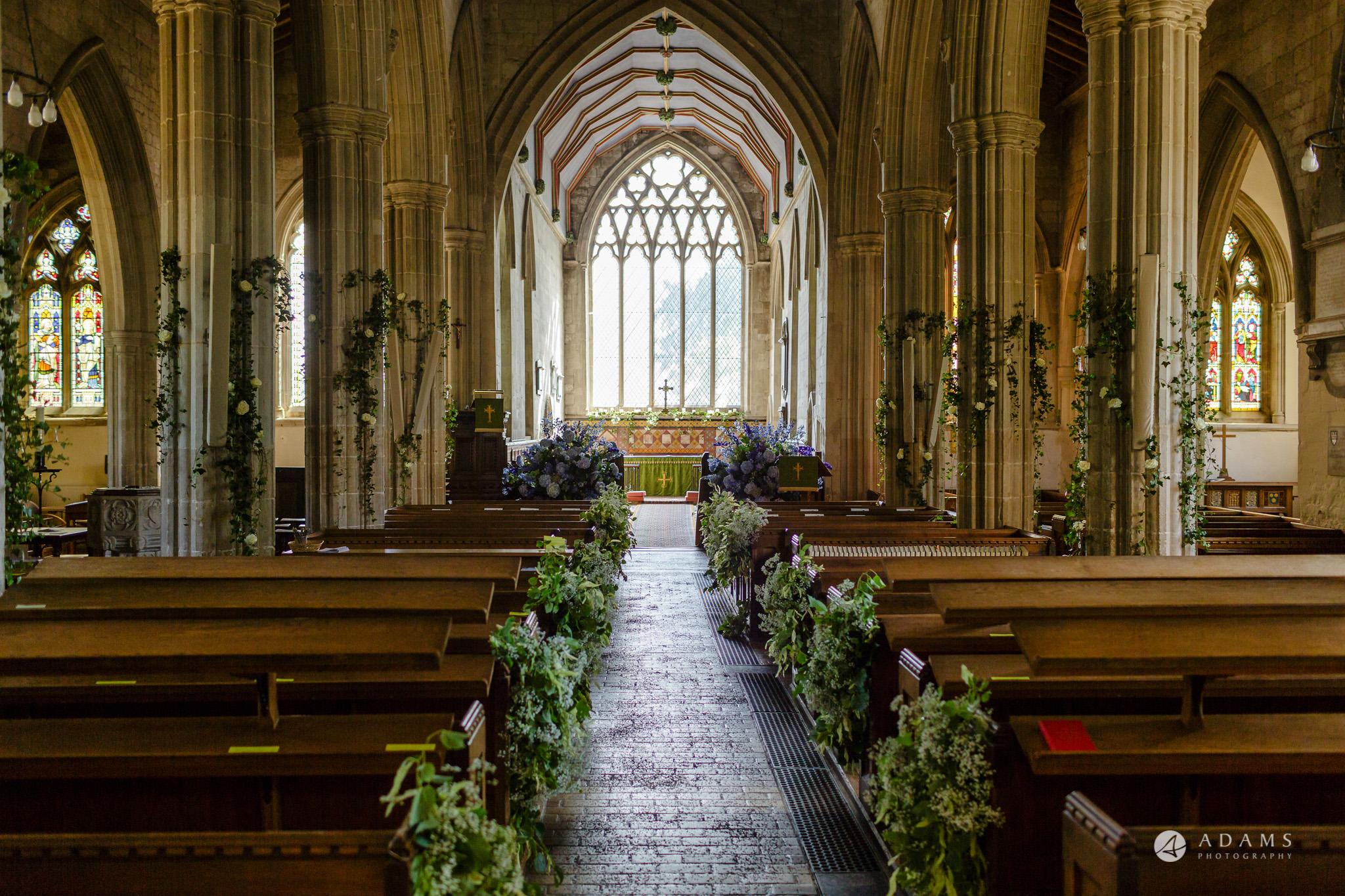 Trinity College Cambridge wedding church inside