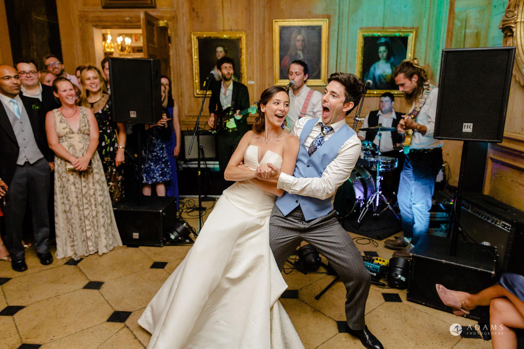 Trinity College Cambridge wedding first dance