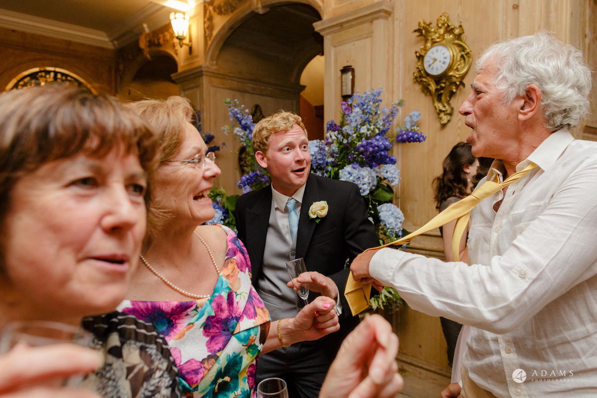 Trinity College Cambridge wedding parents dance