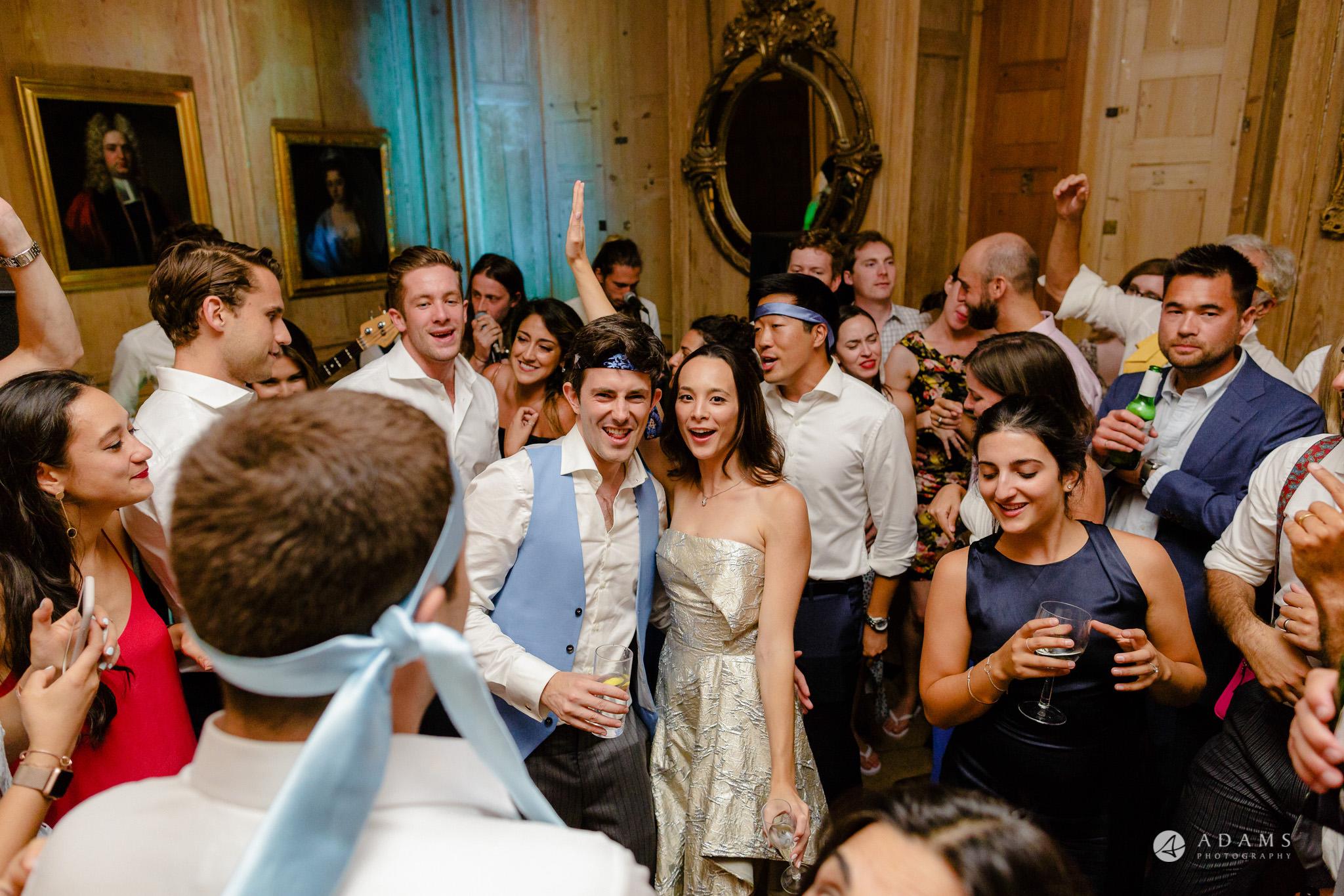 Trinity College Cambridge wedding party