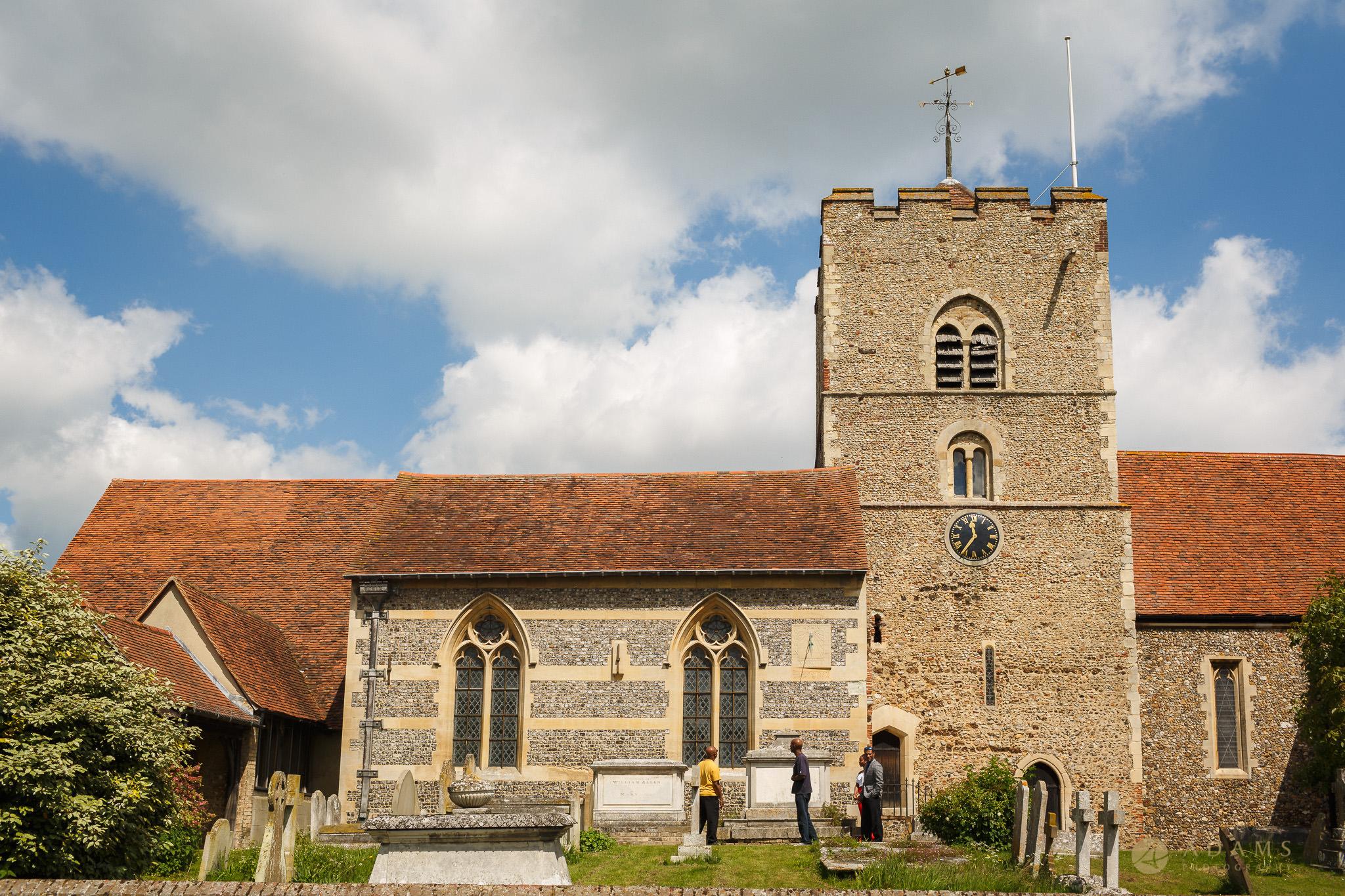 church nearby Boreham House