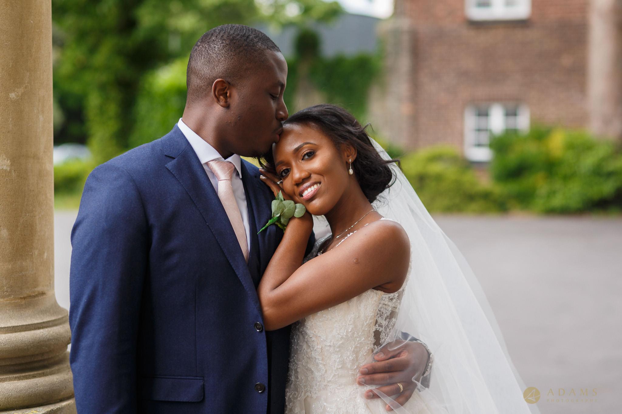 Boreham House wedding photographer newly weds portraits