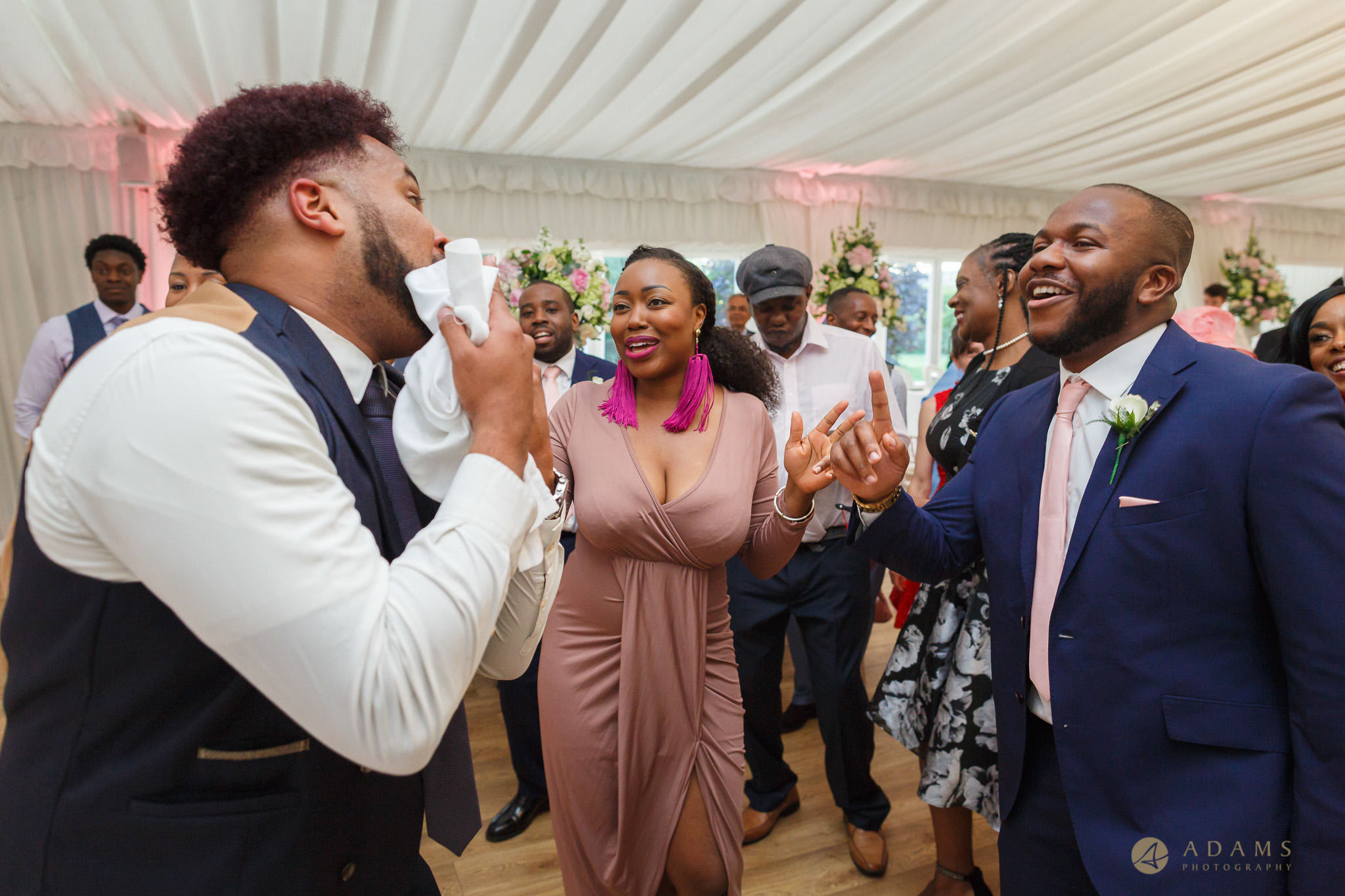 guests having a great fun during the dancing
