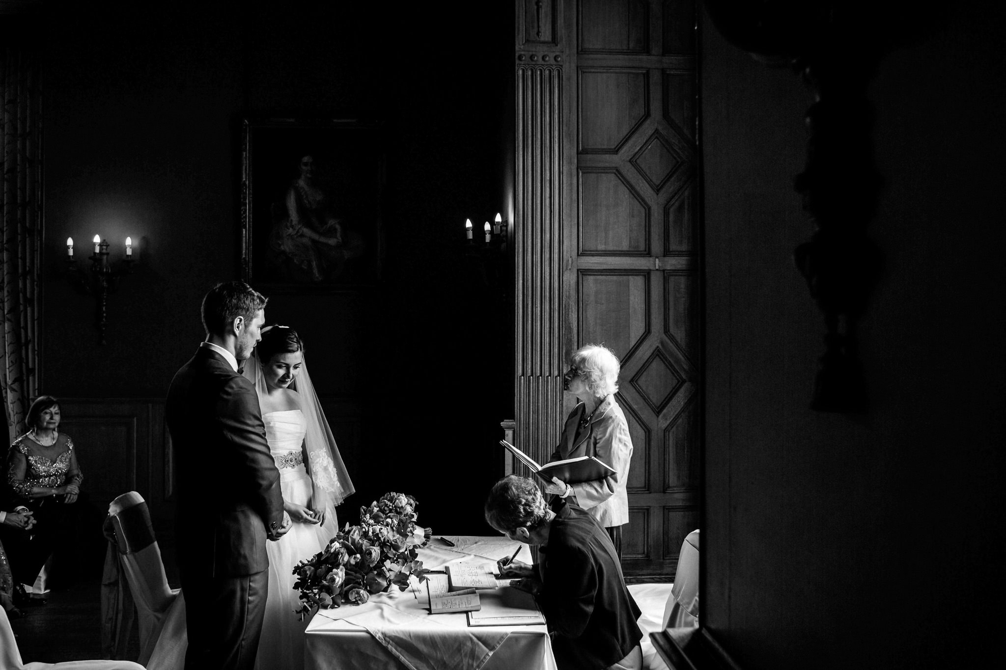 Wedding Ceremony at Oxfordshire