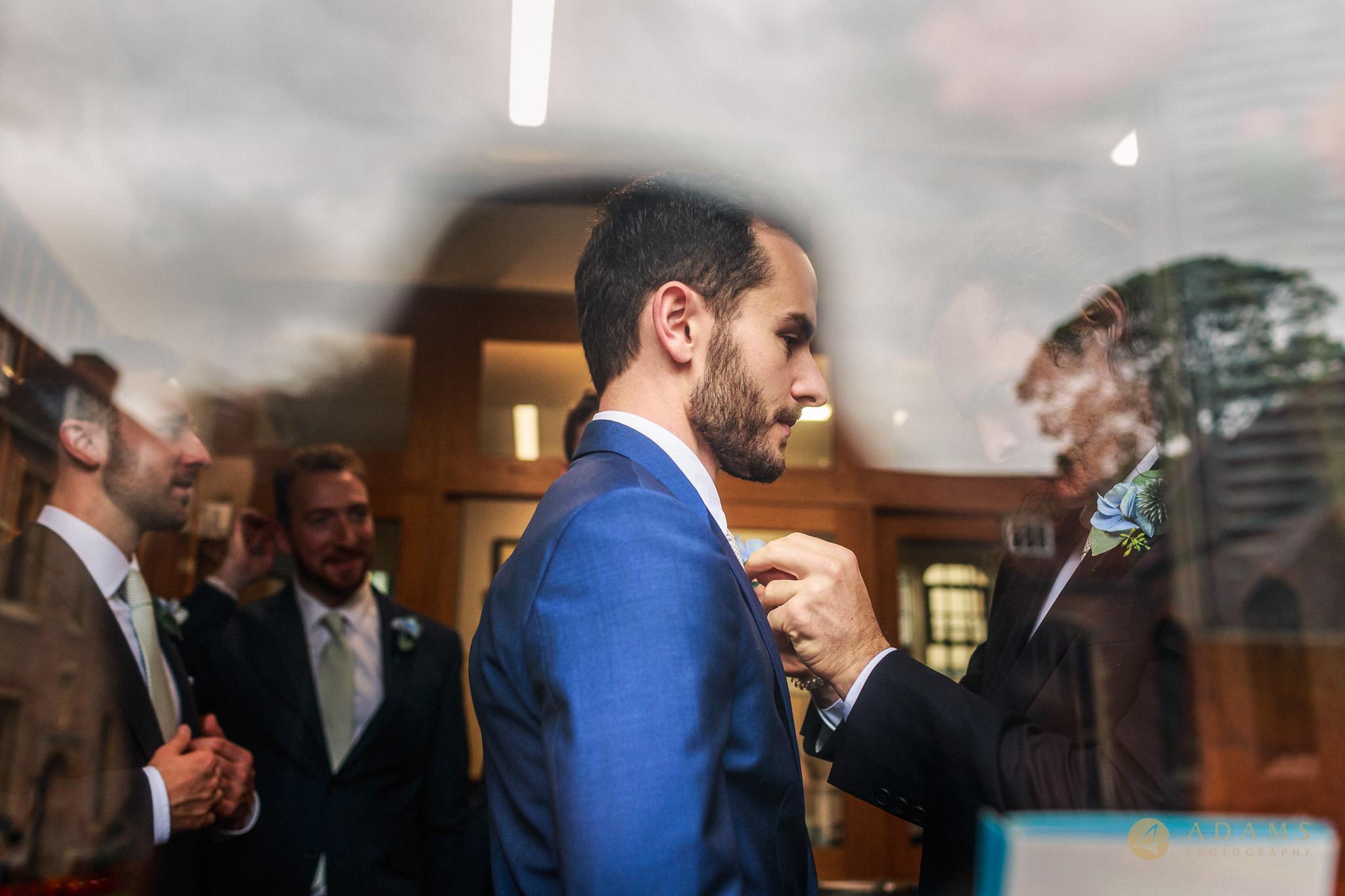 Wedding Photographer Cambridge groom and groomsmen