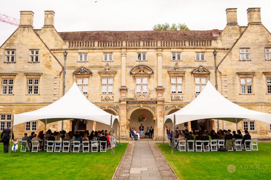 ceremony at Magdalena College