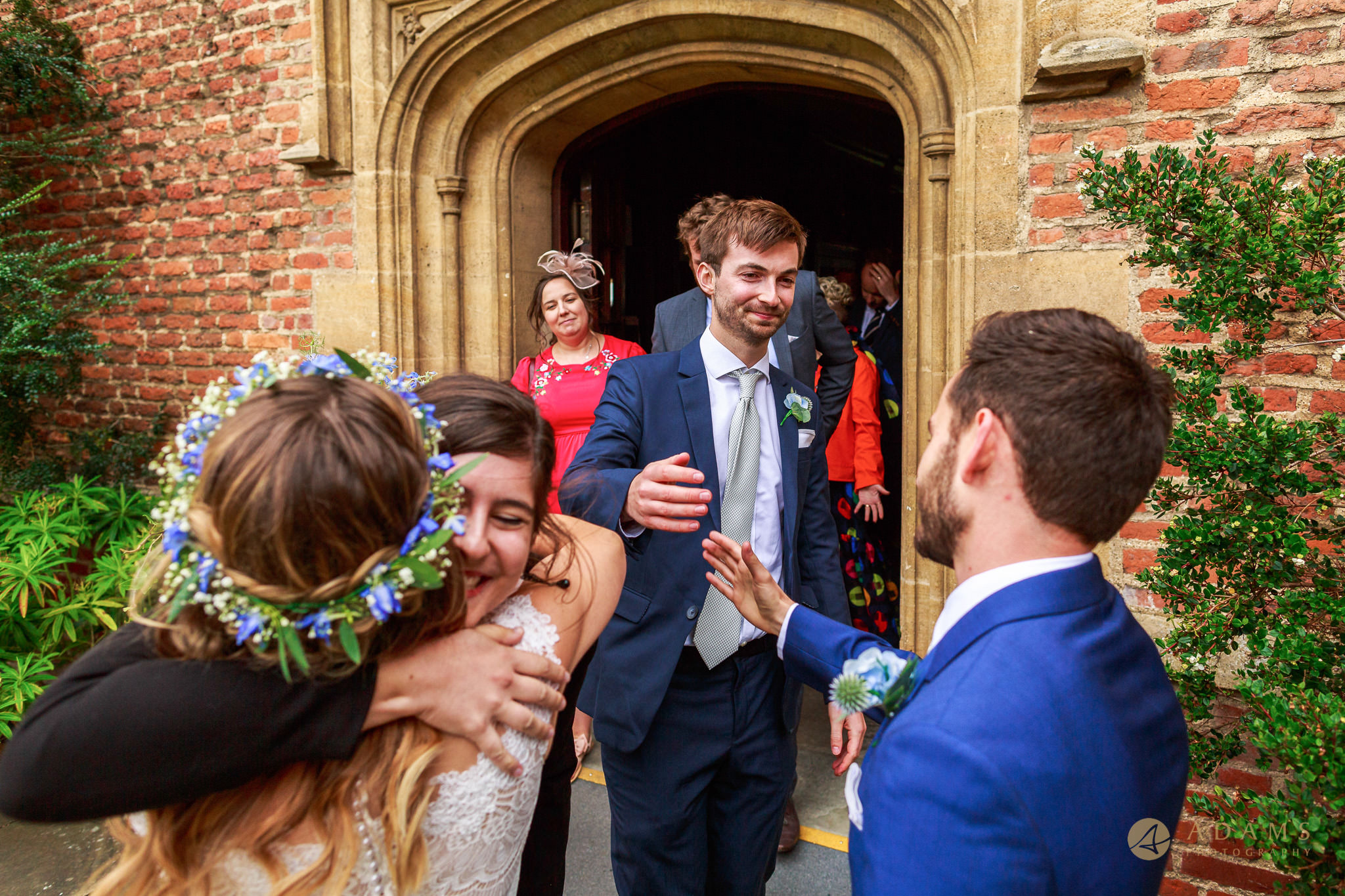 Cambridge Photographer guests congratulations