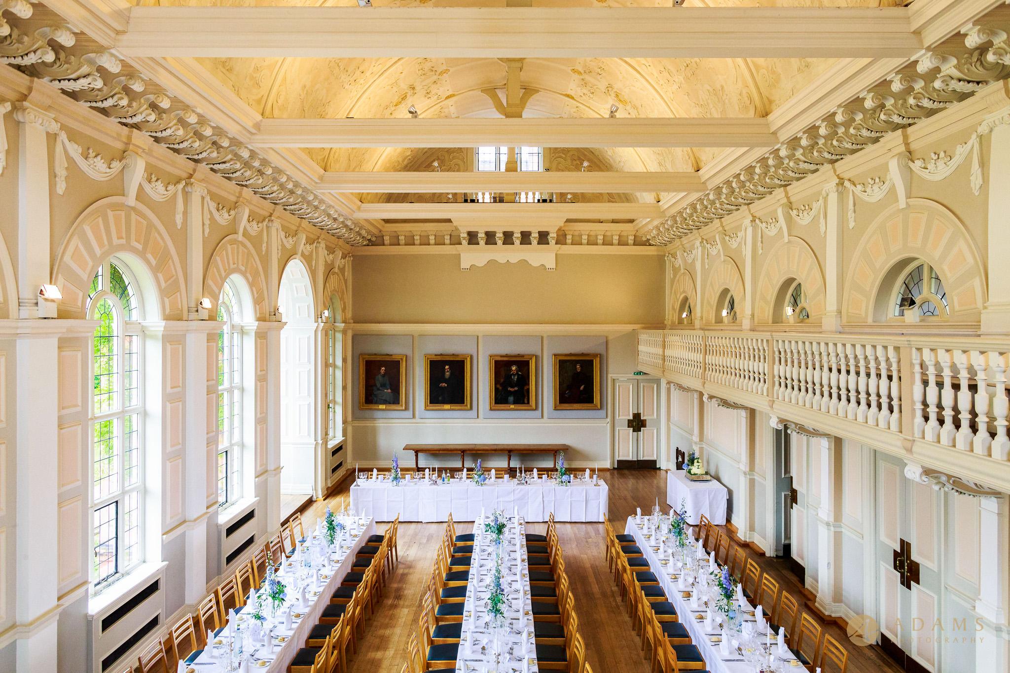 Newnham College hall