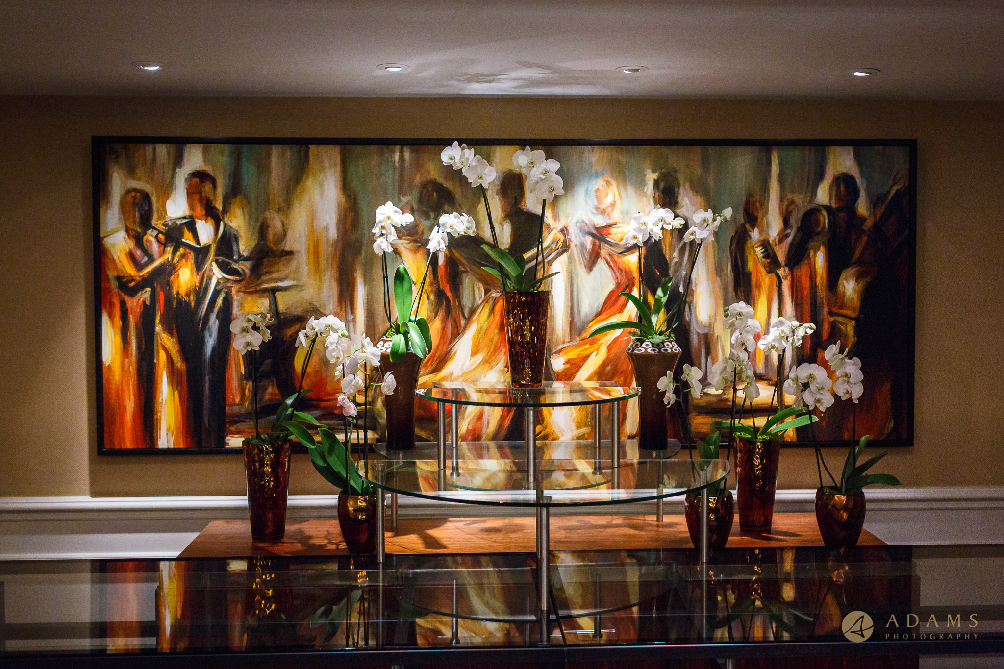 painting in the Langham hotel London