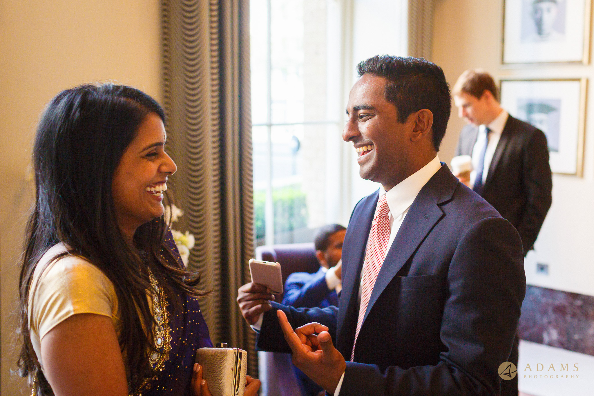 Guests arrive to the he Langham hotel London