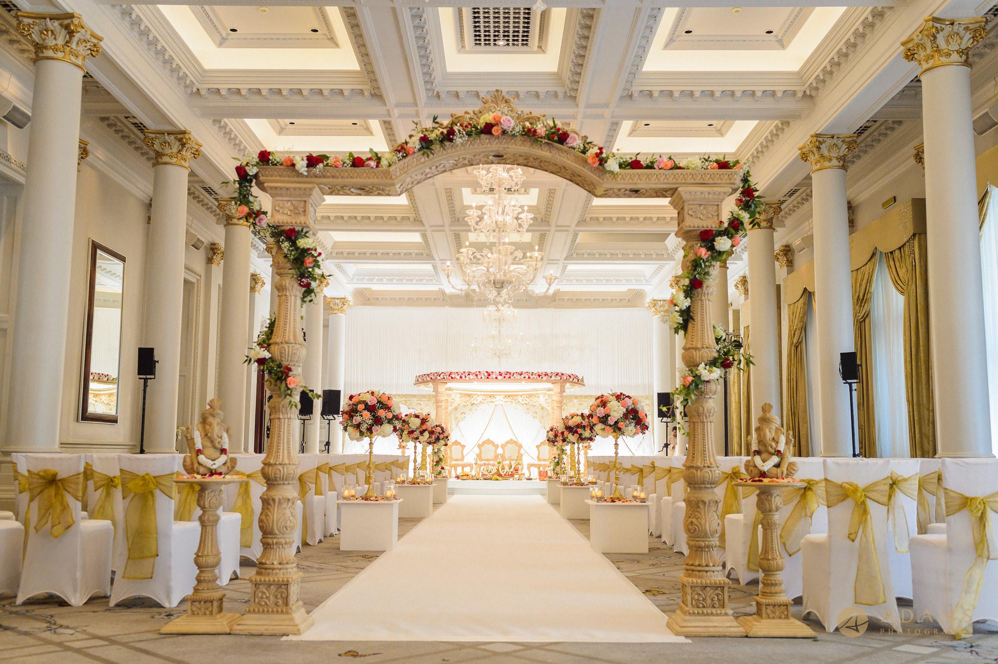 Wedding ceremony room he Langham hotel London