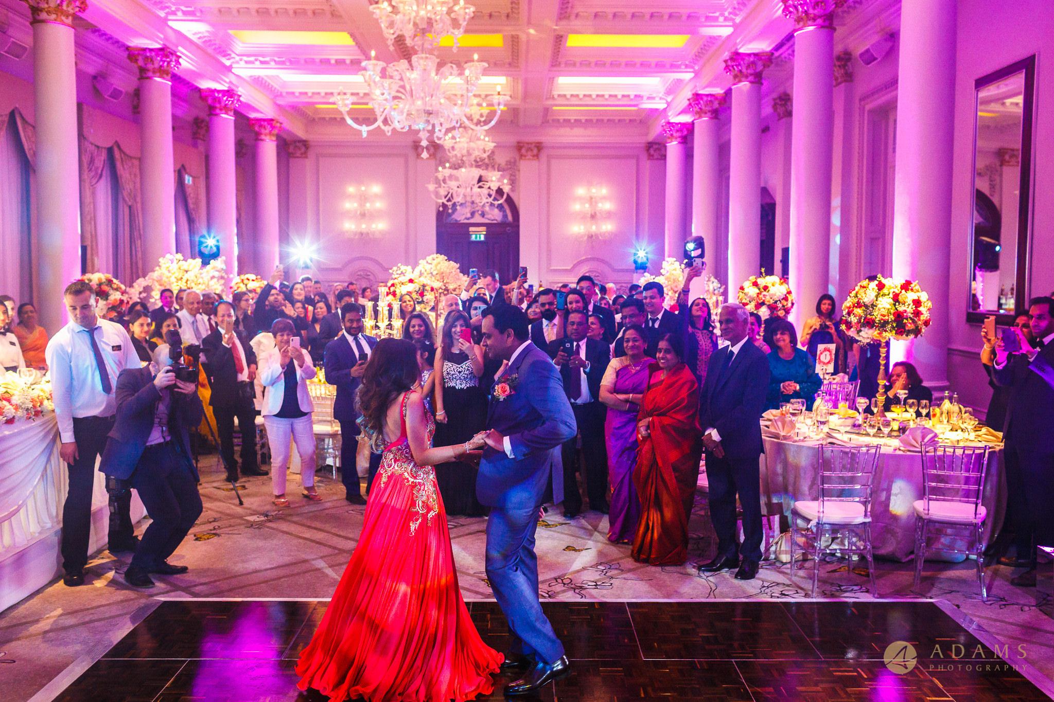 First Dance at Langham Hotel Wedding