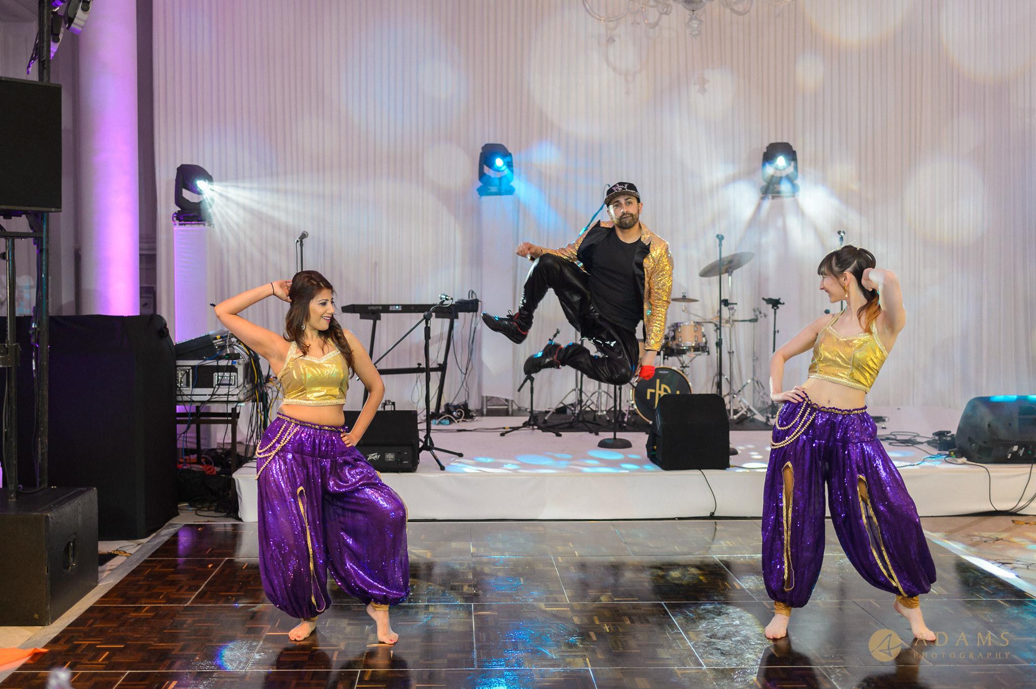 Langham Hotel Wedding Photography dance performance
