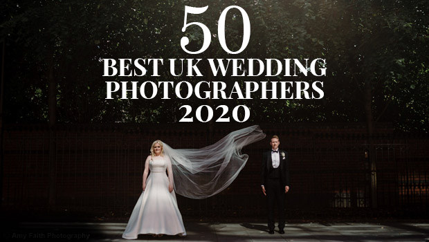 50 Best UK wedding photographers 2020 banner