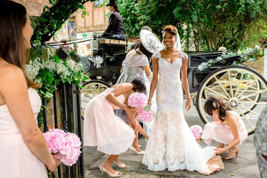 London Wedding Photographer Portfolio bridal arrival