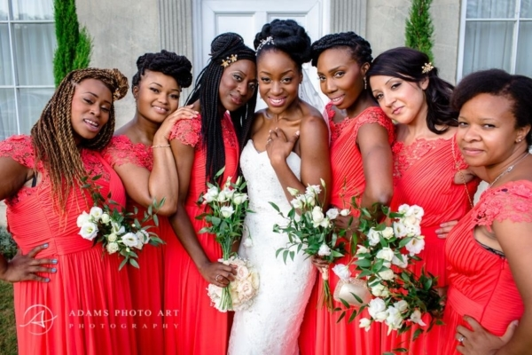 Addington Palace Wedding Photographer | Chinelo + Okey