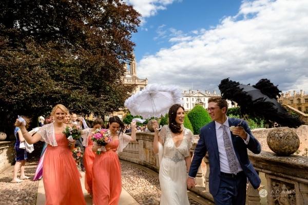 Clare College Wedding Photographer