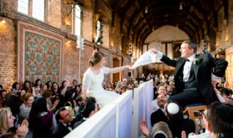 Jewish Wedding Photographer Hatfield House   Suzy & Ben