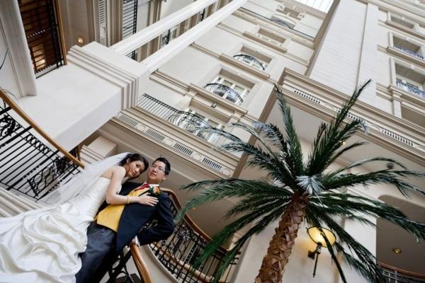 Landmark Hotel London Wedding Photographer | Annie + Chang