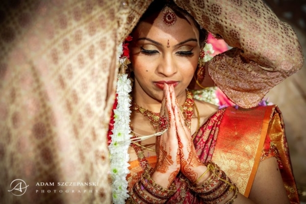 Sattavis Patidar Centre Tamil Wedding Photos | Manga + Thars Day 1