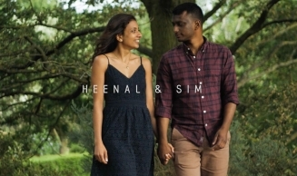 Asian Wedding Videographer London | Heenal & Sim