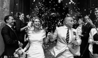 Black and White Wedding Photography   Julia + Tom
