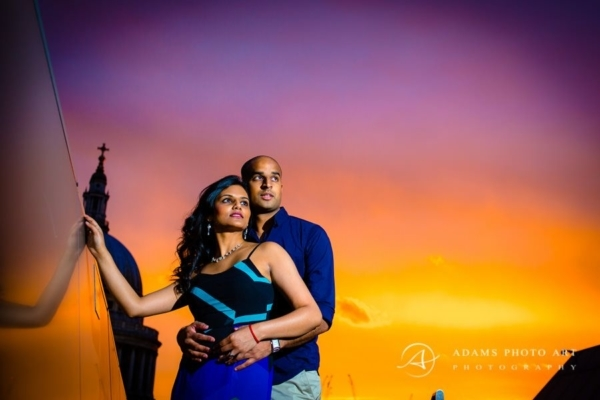 Engagement Session London | Veena + Kris
