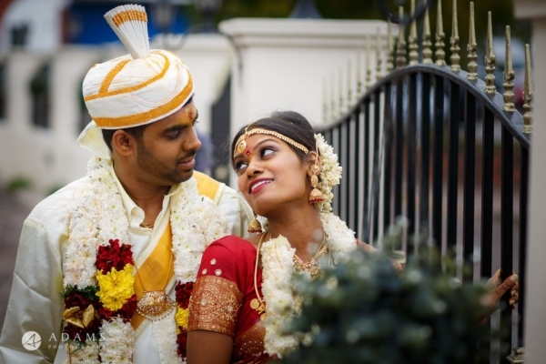 Tamil Wedding Photography London |  Sara + Anojan