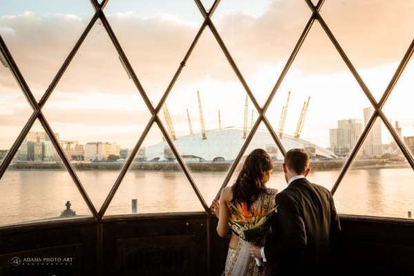 Trinity Buoy Wharf Wedding Photography | Anoushka + Tim